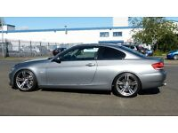 2007 BMW 3 Series 335d SE Grey With 335 Reg, Nav, Black Leather