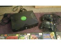 x box with games