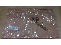Brand New Cashmere Pashmina - Autumnal Gold / Brown