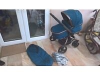 MotherCare Orb/Spin Pushchair in Teal