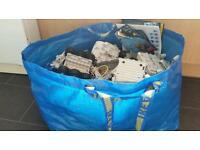 Large bag of Robotix parts