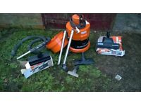 Vaz Wet and Dry Vacuum with power mop and power plus attachments