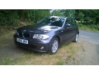 BMW 1 series low mileage with FSH