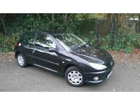 *** 2007 Peugeot 206 Look 1.4i - Only 53,000 miles - Peugeot Service History ***