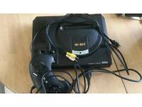 7 console sega bundle megadrive, master system 2 and 2 mini megadrives and games