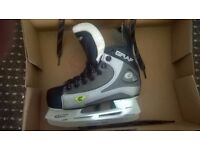 kids size 12 graf ice hockey skates/ice skates.