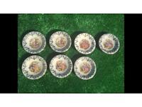 7 Oberammergau mini plates