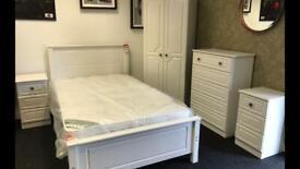 New full white bedroom set