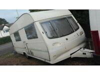 Avondale Grampian xl 4 berth caravan. spares or repair. cheap due to damp