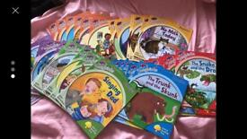 Complete set of phonic songbirds books
