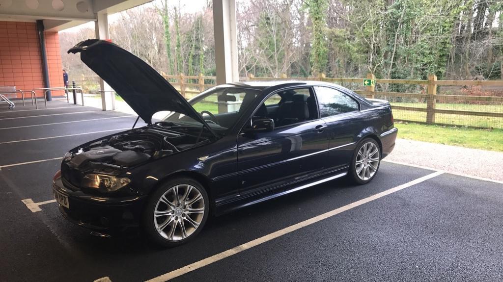 BMW E46 318 Sport Coupe 2004 318i 318ci  in Longstone Edinburgh
