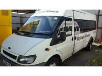 Minibus for private hire