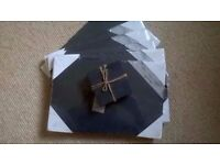 Slate Placemats and Coasters x6