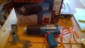 Black and Decker Hot Air Gun/Paintstripper £5