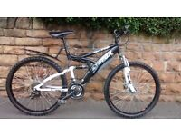 TRAX TFS.1D DUAL SUSPENSION MTB FRONT AND REAR DISC BRAKES