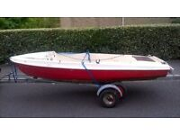 skipper 12 ft dinghy boat tender.