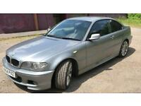 BMW 320D COUPE M-SPORT. BLACK LEATHER 157k GOOD CONDITION