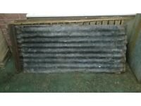 corrugated sheet metal & fixings