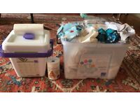 Bambino Mio Reusable Nappies Premium Birth To Potty Pack. HARDLY USED