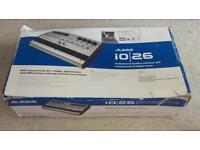 Alesis io26 8 channel preamp and soundcard audio midi interface