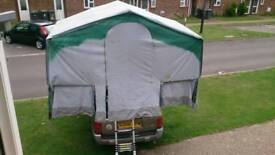 Roof tent project
