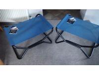 Lafuma folding stools