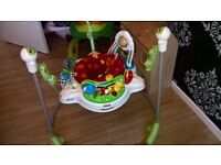 fisher price rainforest jumperoo good condition