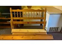 Pine double bed 4.6ft
