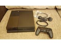 Playstation 4 500gb Black with new controller