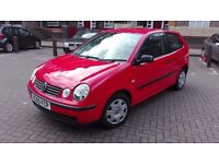 VOLKSWAGEN POLO. S. 1.4 2005 GOOD CONDITION DRIVES PERFECT. LONG MOT