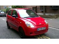 CHEVROLET MATIZ S 796cc 2009 59 REG BRILLIANT RED 5 DOOR HATCHBACK 5 SPEED MANUAL PAS 84K MILES
