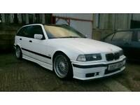 BMW E36 TOURING SPORT MANUAL 2.5 M50B25, DRIFT, STANCE, MODIFIED 325I, 318I
