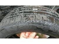 2 x 195 55 16 nexen tyres part worn 4mm £20 used 2nd hand 3mm 5mm 6mm