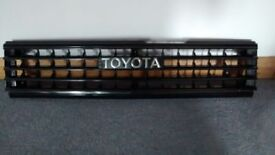 Toyota Corolla 1982 front grill and badge...