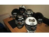 Motorbike crash helmets