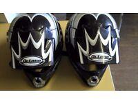 2 Motorbike helmets only £9