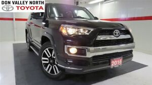 2016 Toyota 4Runner LIMITED PKG 4WD Sunroof Nav BU Cam Heated Lt