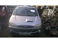 Hyundai H-1 2002 model 7 seater left hand drive