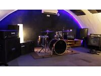 Friendly West London Rehearsal Studio with Full Backline FROM only £6 per hour!