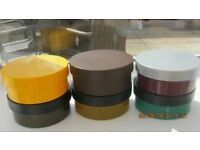 used plastic sturdy containers
