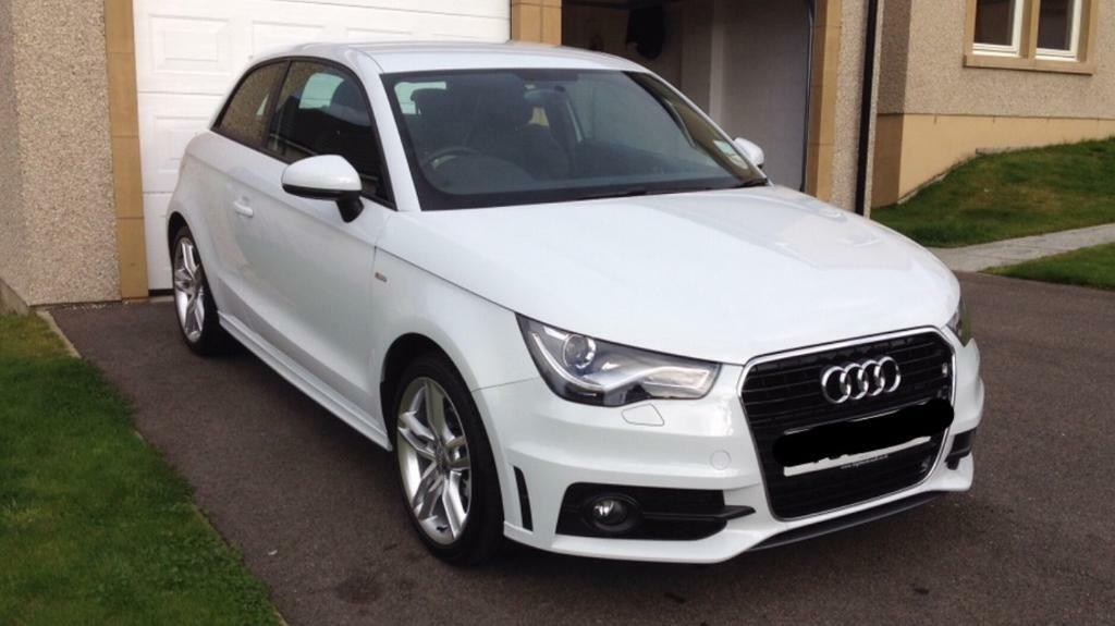 Audi A1 New Model >> Audi A1 1.4 TFSI S-Line 2013 3dr Glacier White | in Inverness, Highland | Gumtree