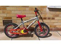 Boys bike age 4-6 years