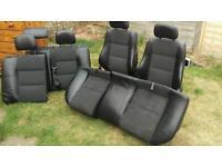 Vauxhall vectra sri seats