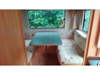2006 5 berth fleetwood sonata with caravan mover plus awning and everything you need to go