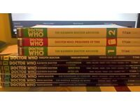 Doctor who Titan Comics Set