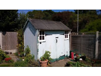 Vintage Early 20th Century Beach Hut Chalet - Now Garden Shed - some TLC/Repairs required