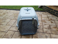 Large pet carrier, free to collector, but charitable donation would be appreciated.