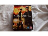 Supernatural The Complete First Season DVD I also have The second Season on another ad for both £5