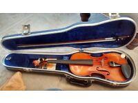 Violin (full-size) named maker West German