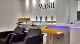 HAIR STYLIST stations to rent in busy salon with free parking in Redditch.